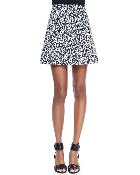 Lonati Pescara Printed Skirt