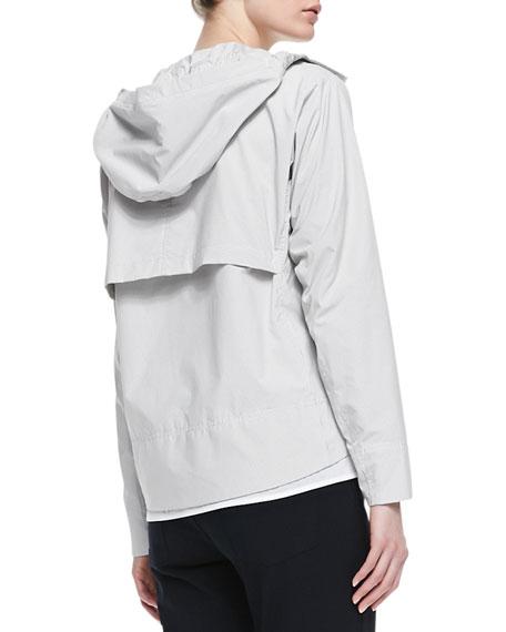 Dripp Ribbed Hooded Coat