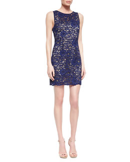 Trina Turk Bissitti Floral Lace Dress