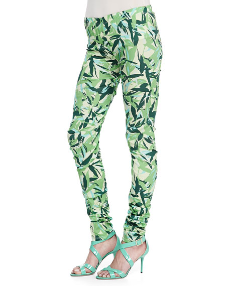 Brooke Leaves Printed Leggings