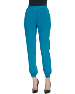 Elie Tahari Emalia Relaxed Pull-On Pants