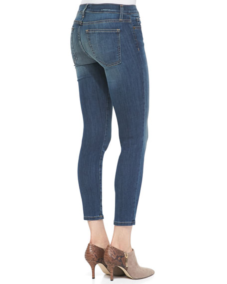 Stiletto Cropped Jeans, Tidepool