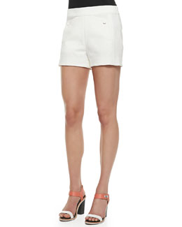 Rag & Bone Farnsworth Structured Crepe Shorts