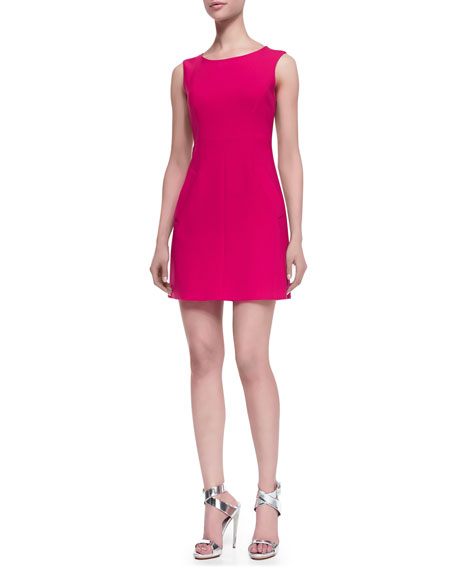 Carpreena Sleeveless Dress, Pink Spice