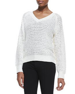 Theyskens' Theory Kaydim Yaina Silk Sweater