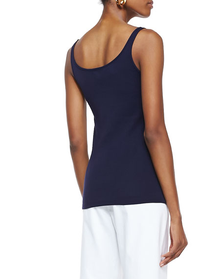 Organic-Cotton Long Slim Tank, Women's