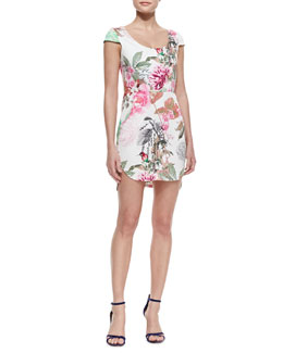 Kelli & Talulah Rhythmic Fantasy Floral-Print Dress
