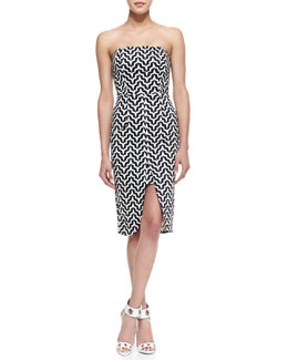 Kelli & Talulah Burning Passion Strapless Dress