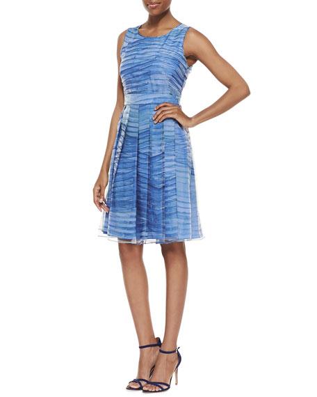 Sleeveless Bell Skirt Dress