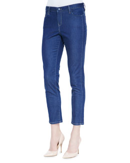 Christopher Blue Valencia Cropped Ankle Jeans, Bijou Wash