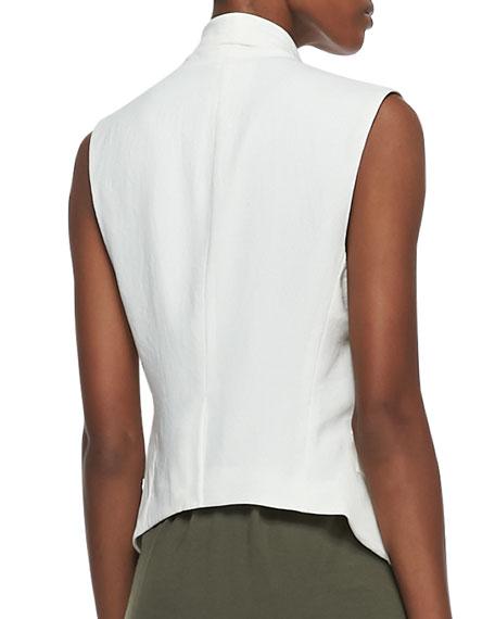 Drapey Crepe Vest