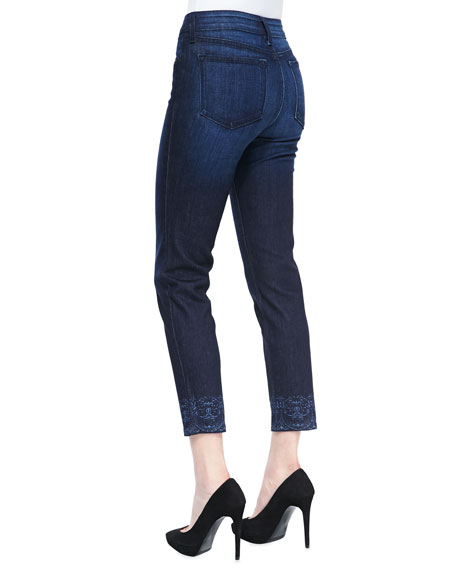 Alisha Fitted Ankle Jeans, Victorville, Petite