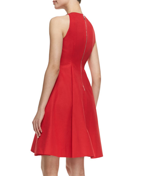 259fb34bfea9 kate spade new york angelika sleeveless fit-and-flare dress