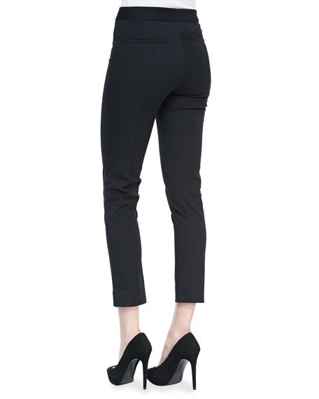 Bi-Stretch Ankle Pants
