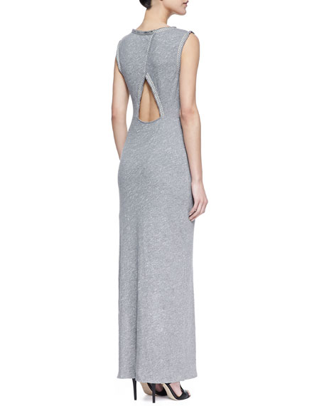 Sabrina Maxi Dress, Heather Gray