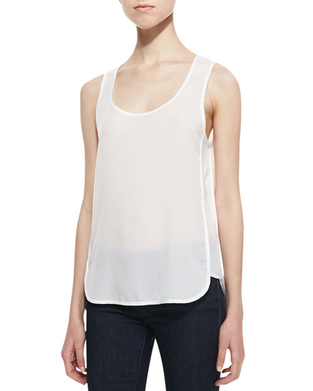Penny Plains Combo Top, White