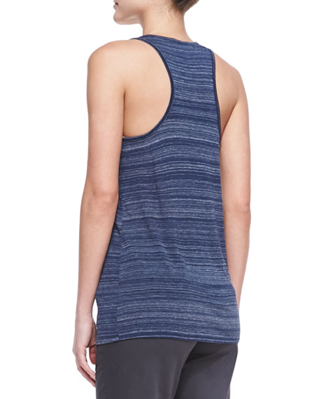 Striped Racerback Slub Tank, Coastal