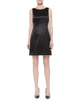 Theyskens' Theory Sleeveless Sheath Dress, Black