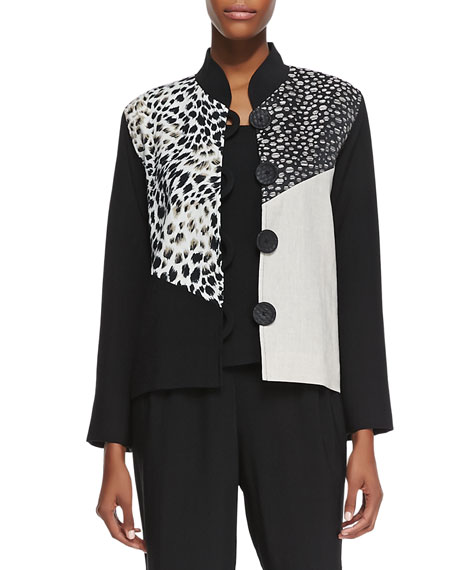 Rock Steady Combo Boxy Jacket, Petite