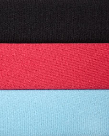 Interlock-Knit Full-Length Pants