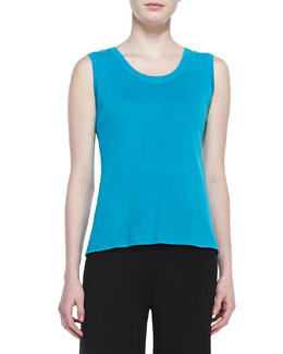 Misook Scoop-Neck Sleeveless Tank Top, Women's