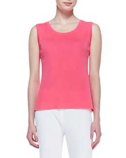Misook Scoop-Neck Sleeveless Tank, Women's