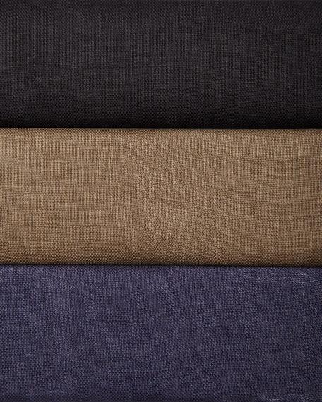 Linen Pocket-Front Shirtdress, Women's