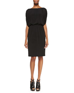 T Tahari Alice Dolman-Sleeve Jersey Dress