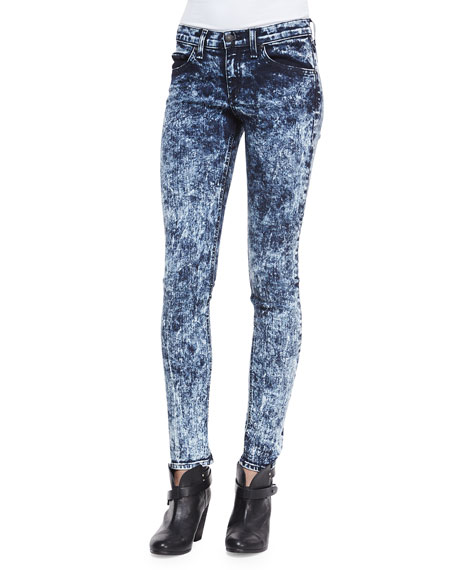 The Skinny Acid Wash Jeans