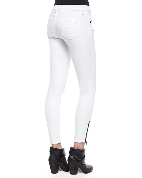 RBW 23 Cropped Zip-Pocket Jeans