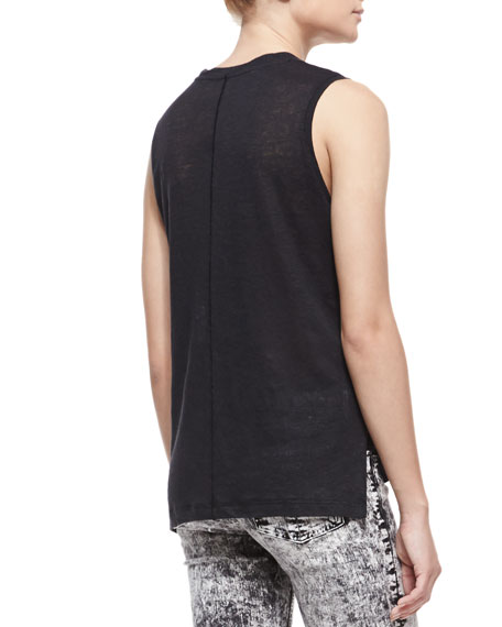 Mack Sleeveless Muscle Tank