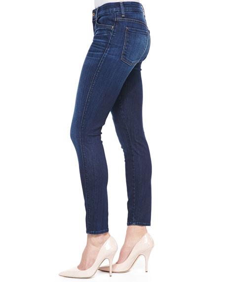 High-Rise Ankle Skinny Malibu Coast Denim Jeans