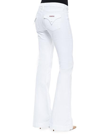 Ferris Stretch-Twill Flare-Leg Jeans