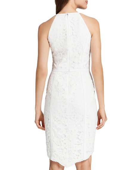 Ryder Lace Halter Style Dress, Lily White