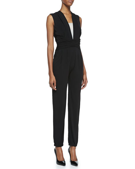 Hudson Jersey Sleeveless Jumpsuit
