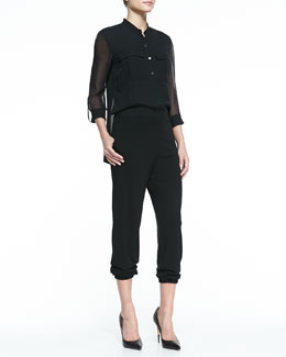 Elie Tahari Madison Silk Jumpsuit