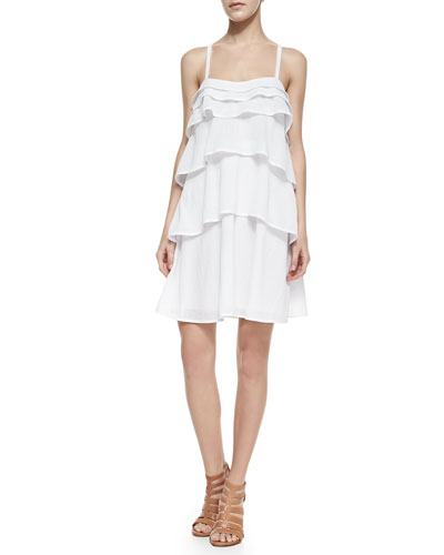 Diane von Furstenberg Avery Ruffled Tier Dress