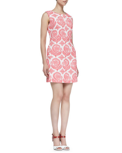 Diane von Furstenberg Carpreena Floral Mini A-line Dress