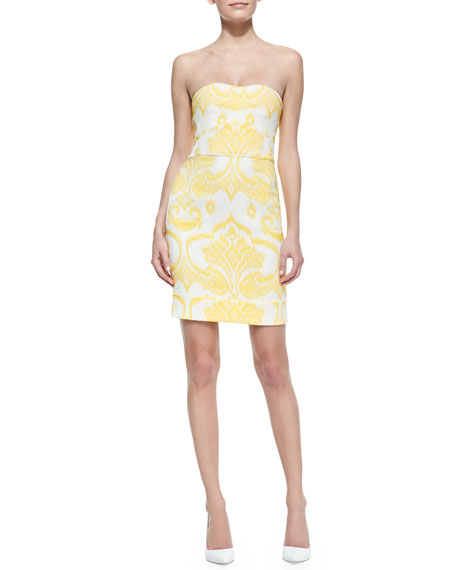 Garland Two Strapless Dress