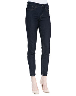 NYDJ Ami Denim Leggings with Contrast Stitching