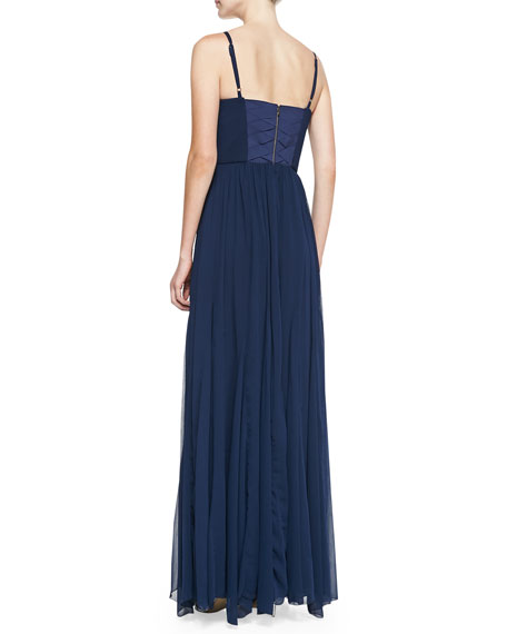 Percie Bustier Maxi Dress