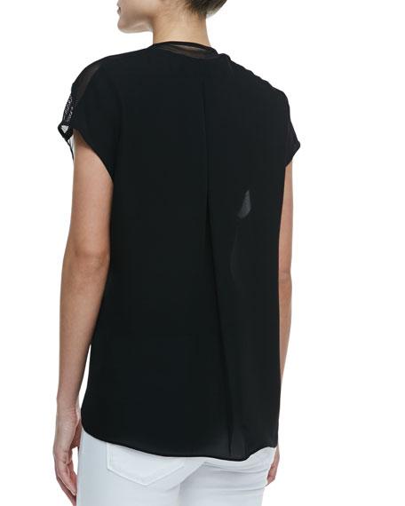 Midtown Short-Sleeve Blouse