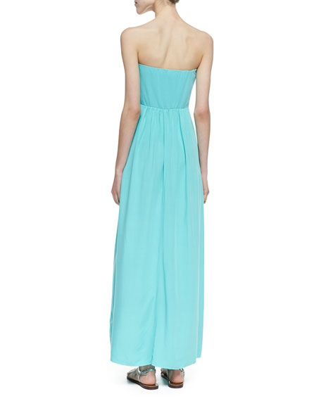 Bermuda Strapless Maxi Dress