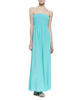 Splendid Bermuda Strapless Maxi Dress