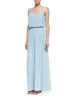 Splendid Venice Striped Dyed Maxi Dress