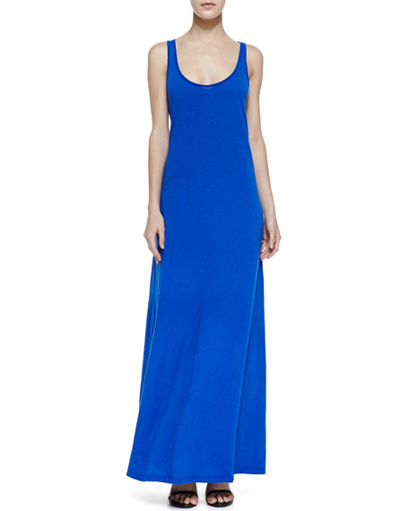 Racerback A-Line Maxi Dress, Seaport