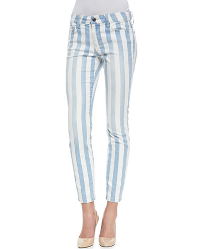 Joe's Jeans Baby Blues Skinny-Leg Ankle Jeans
