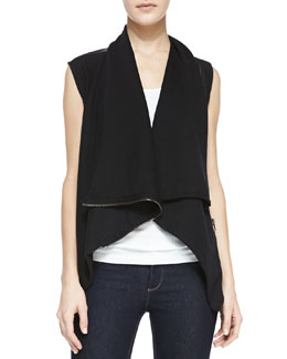 Blank Private Practice Draped Combo Vest