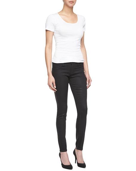 Spray On Skinny Jeans, Black