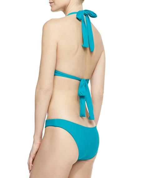 Cabrillo Macrame Monokini Halter Swimsuit